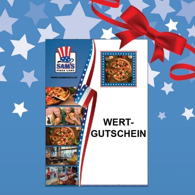 Voucher - SAM'S Pizza Land